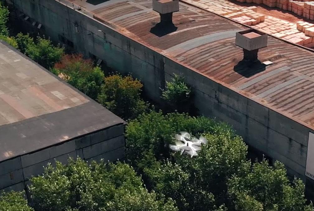 Аэрофотосъемка объекта. Фото
