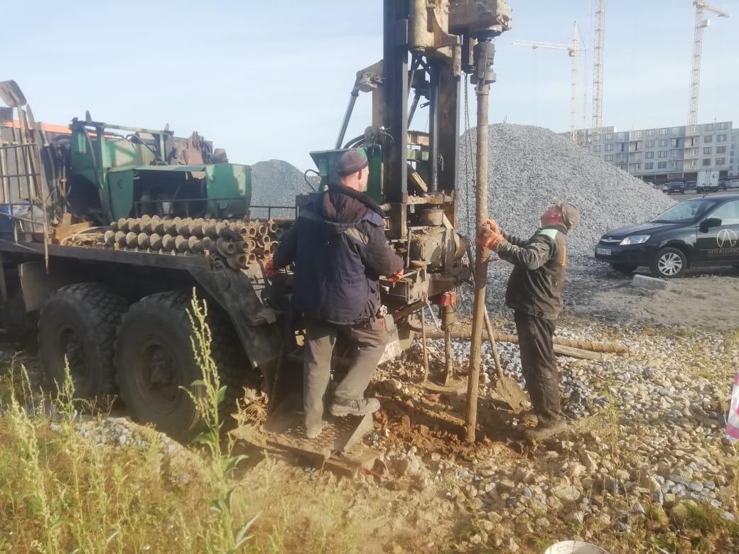 Геологические изыскания при строительстве дома